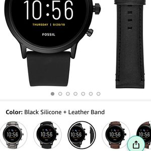 Fossil Smart Watch New In Box With 3 Bands Be Charger for Sale in Visalia, CA