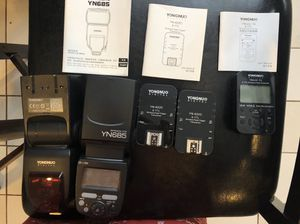 Yongnuo YN685 Flashes and receivers for Sale in Virginia Beach, VA