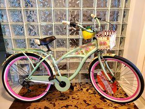 Brand New!! 26Inch Womens Jimmy Buffet Margaritaville Beach Cruiser Bike. for Sale in Pompano Beach, FL