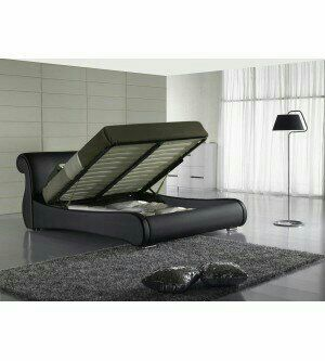Beautiful queen storage bed frame for Sale in Vernon, CA