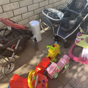 Britax Contours Stroller Plus Fisher Price Toys for Sale in Henderson, NV