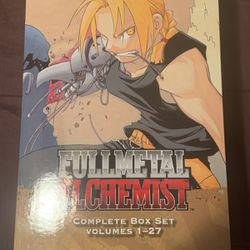 Fullmetal Achemist Complete Box Set Vol 1-27 for Sale in Deltona,  FL