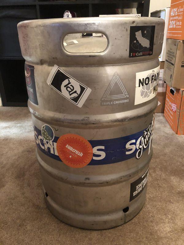 1/2 Barrel Aluminum Keg