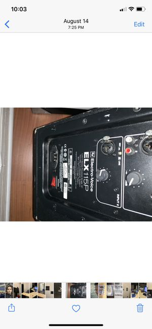 "15"" powered Speaker for Sale in Hialeah, FL"