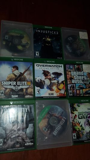 games for Xbox One for Sale in Alexandria, VA
