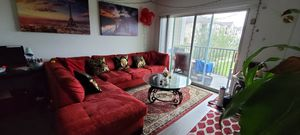 Beautiful sectional couch red for Sale in Kissimmee, FL