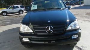 Part out 2002 Mercedes Benz ML 320 for Sale in Chino Hills, CA