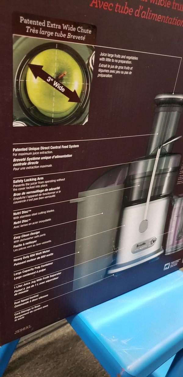 New Breville Juice Fountain Plus Juicer