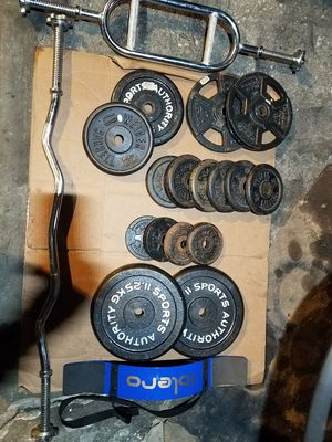 """1"""" HOLE ADJUSTABLE WEIGHTS for Sale in Chicago, IL"""