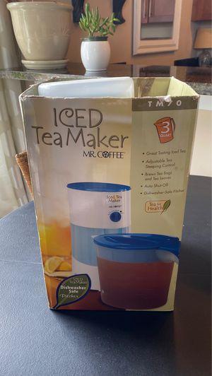 Mr Coffee iced tea maker 3 qt for Sale in Roanoke, VA