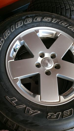 Jeep tires and wheels for Sale in Spring Valley, CA