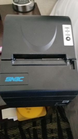 New Snbc thermal reciept printer / and secureram safe lock system $65 for Sale in Rosemead, CA