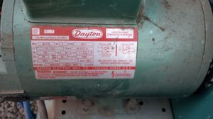 Dayton Speedaire air compressor belt driven works great. for Sale in Springfield, OR