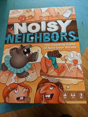 Noisy Neighbors Board Game for Sale in La Mesa, CA