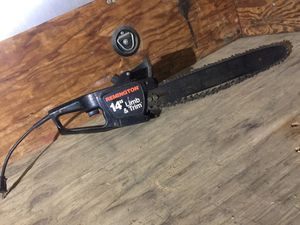 "14"" electric chainsaw for Sale in Kalama, WA"
