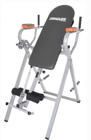 Conquer 6-in-1 inversión table power tower home Gym for Sale in Hialeah, FL