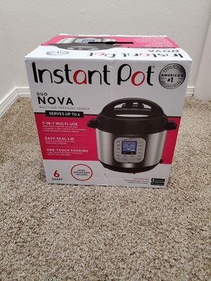 6 Qt Instant Pot Duo Nova 7in1 pressure cooker for Sale in Hillsboro, OR