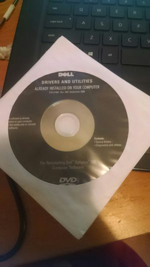 DELL Optiplex 760 Drivers and Utilities Install DVD for Sale in Vancouver, WA