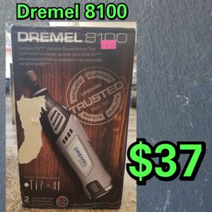 NEW Dremel 8100 Cordless 8V Max Variable Speed Rotary Tool: njft hsewres tools for Sale in Burlington, NJ