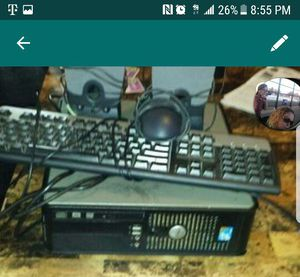 Dell computer tower with keyboard and mouse for Sale in Cleveland, OH