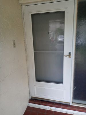 Screen door for a 36x80 door for Sale in Oakland Park, FL