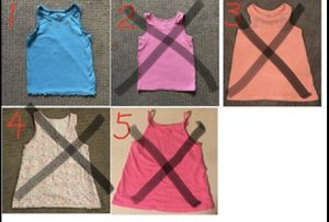 Girls Tank tops Size 5-6 for Sale in Seattle, WA