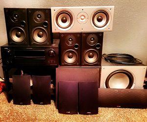 Complete Denon / Polk Audio 5.1 Surround System for Sale in Avondale, AZ