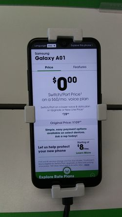 Samsung A01 for Sale in San Angelo,  TX