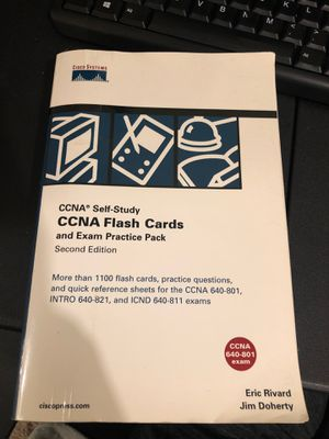 CCNA Flash Cards Exam Pack for Sale in Nitro, WV