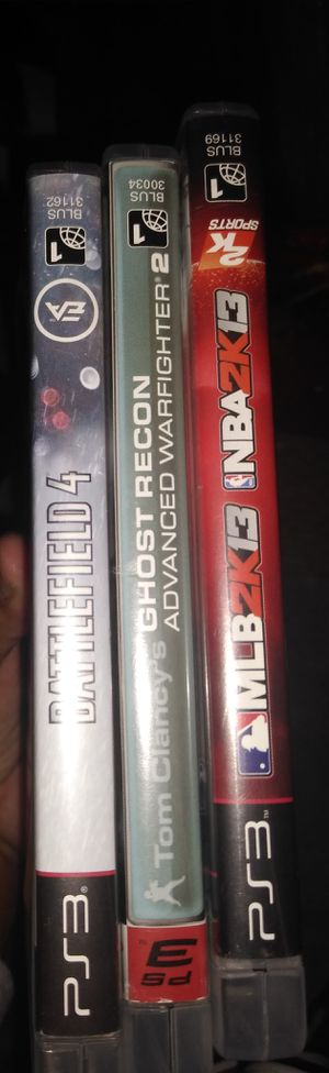 PS3 games - all 3 for just $15 for Sale in Fort Myers, FL
