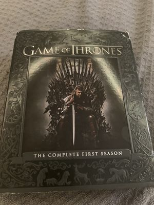 Game of Thrones Complete first season on BluRay for Sale in Port Richey, FL