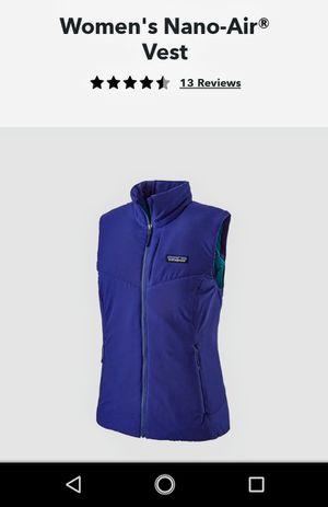 Patagonia women's nano air vest for Sale in Bremerton, WA