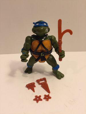 1988 Leonardo - Tmnt Teenage Mutant Ninja Turtles - Vintage Action Figure Toy Playmates for Sale in Naperville, IL