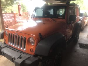 Jeep Wrangler 2012. Rubicon wheels and tires for Sale in Payson, AZ