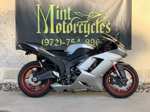 2007 Kawasaki zx6r *everyones approved* for Sale in Dallas, TX