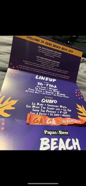 Papas and beer beach bash 2019 for Sale in Compton, CA