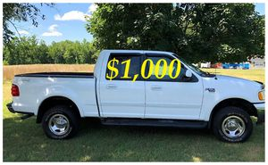 $1,000 URGENT For sale 2002 Ford F-150 XLT 4x4 very clean condition for Sale in Billings, MT
