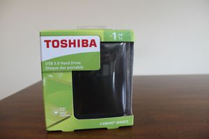 Toshiba hard drive 1TB for Sale in North Haledon, NJ