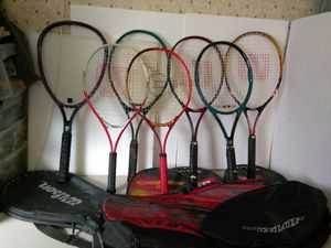 TENNIS RACKETS. READ DETAILS for Sale in Clayton, MO