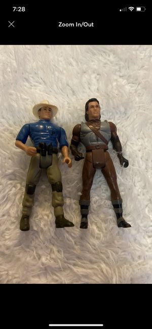 two 91-93 Jurassic Park Kenner action figure for Sale in Fayetteville, NC
