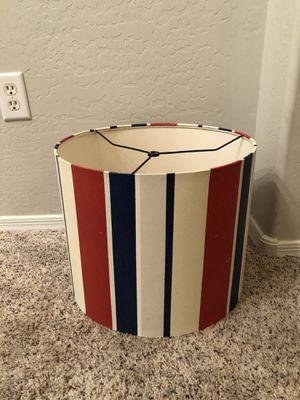16 inch Red White and Blue lamp shade for Sale in Gilbert, AZ