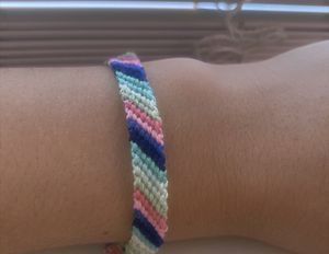 Candy stripe bracelets 7.5 inches for Sale in Spring, TX