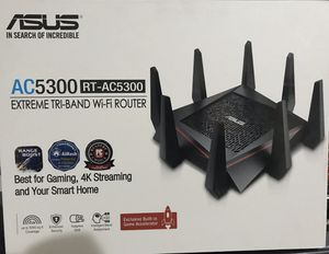 ASUS AC 5300 Router for Sale in Irvine, CA