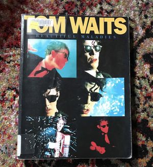 Tom Waits Beautiful Maladies Piano Guitar Song Book for Sale in Portland, OR
