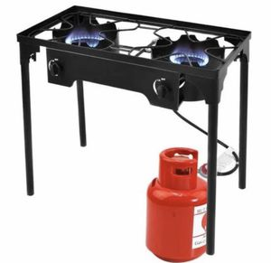 New !! New 150000 Btu Double Burner Outdoor Stove Bbq Grill for Sale in Pomona, CA