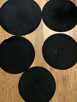 5 piece set drum muters for Sale in Portland,  OR