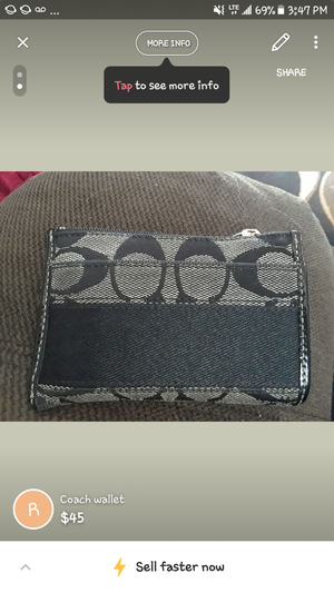 Coach wallet perfect condition for Sale in Las Vegas, NV