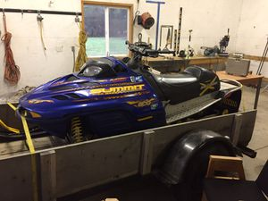 2002 skidoo snowmobile bombardier 800 for Sale in Yacolt, WA