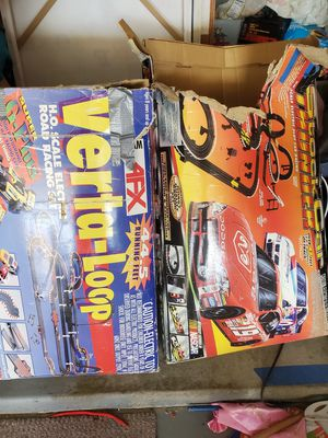 2 boxes of Vintage HO slot car track must sell for Sale in Mission Viejo, CA
