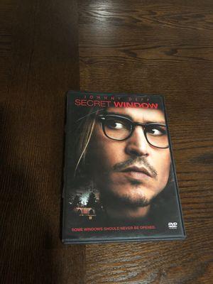 Secret Window DVD for Sale in Morrisville, NC